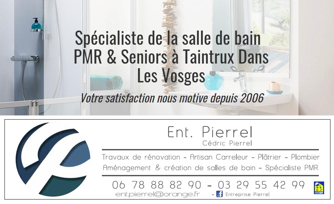 Entreprise Pierrel 88100 Taintrux. 03 29 55 42 99.
