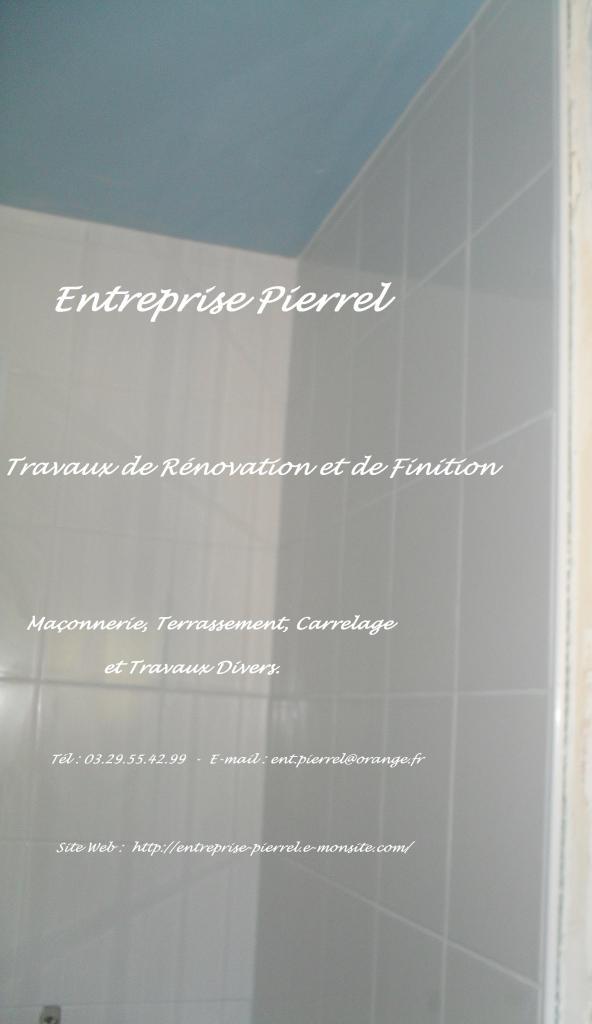 Faiences - Entreprise Pierrel - 88100 Taintrux. Tél 03.29.55.42.99.