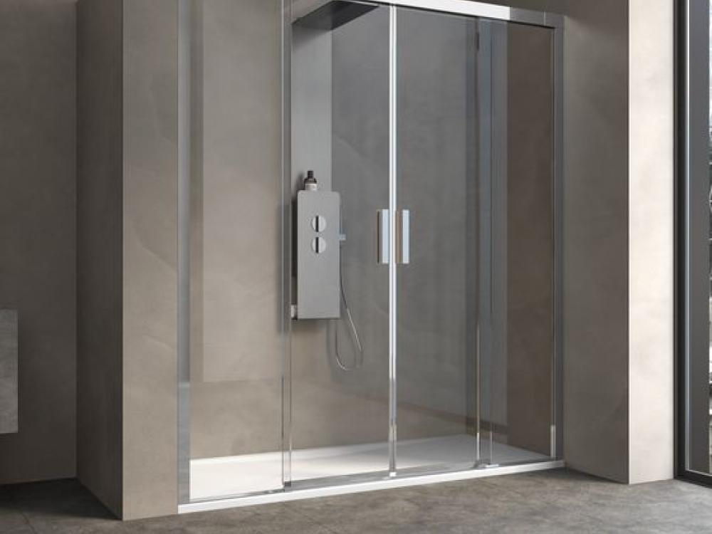Installation de paroi de douche - Entreprise Pierrel 88100 Taintrux (29)