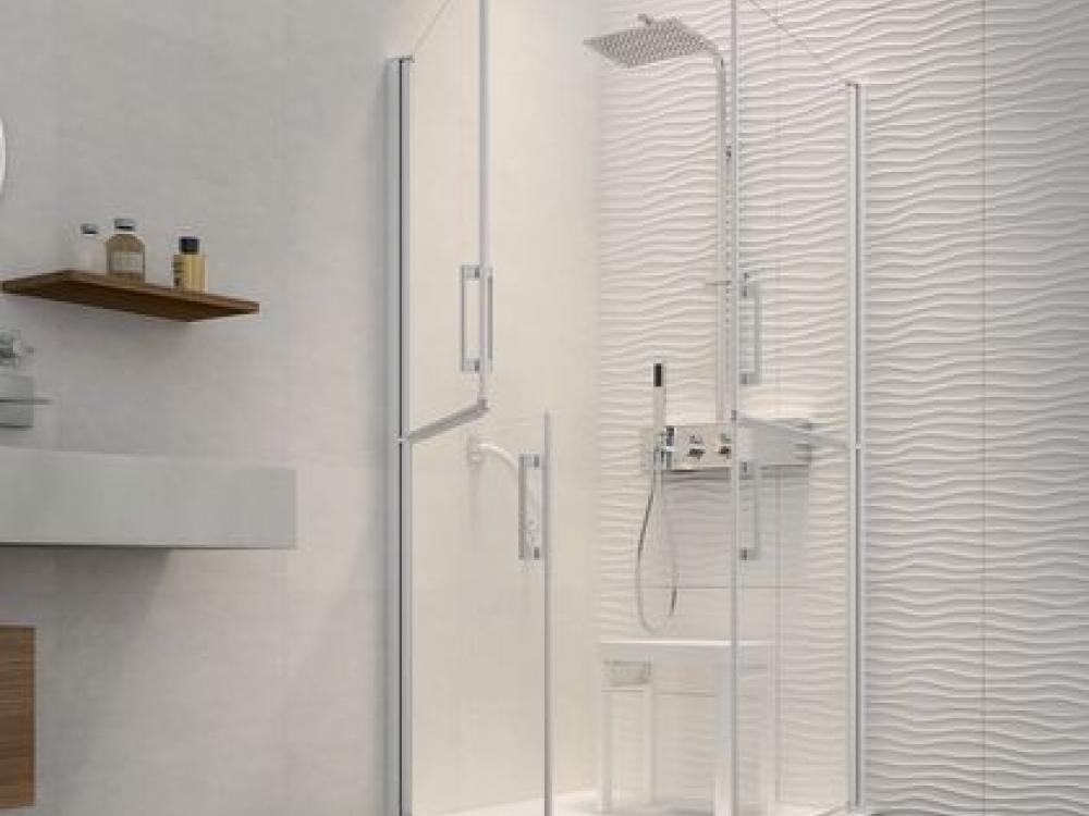 Installation de paroi de douche - Entreprise Pierrel 88100 Taintrux (30)