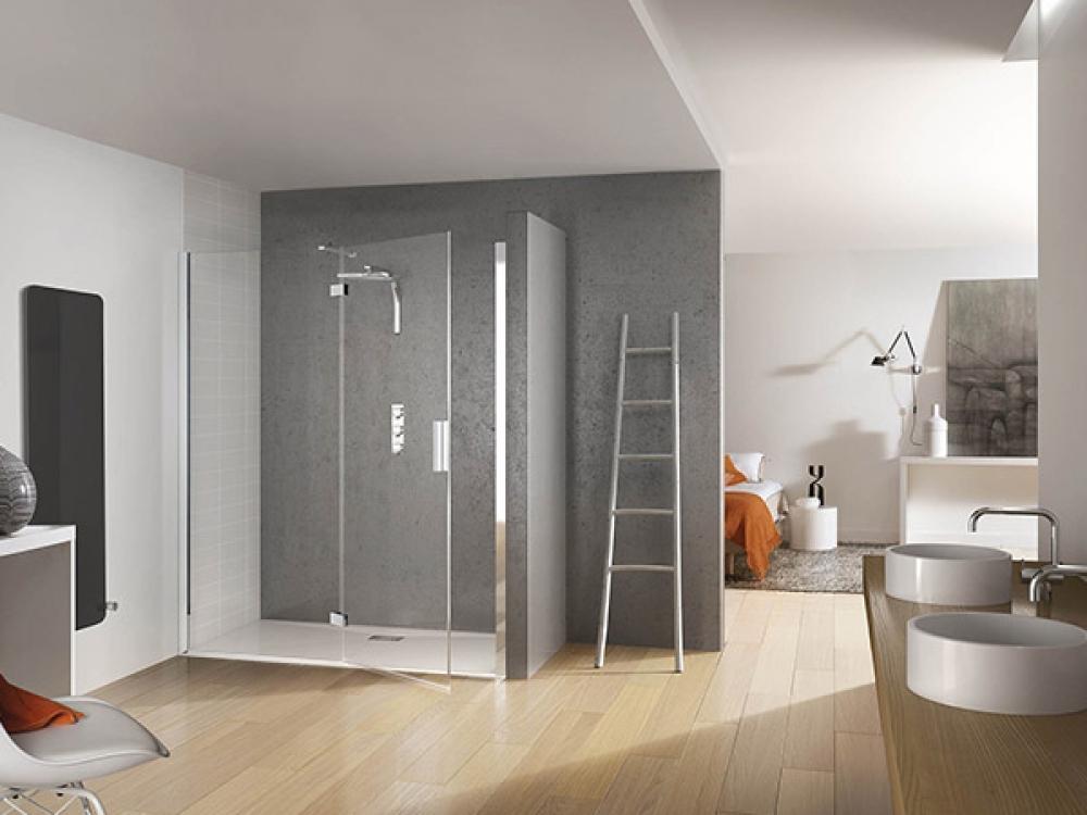 Installation de paroi de douche - Entreprise Pierrel 88100 Taintrux (44)