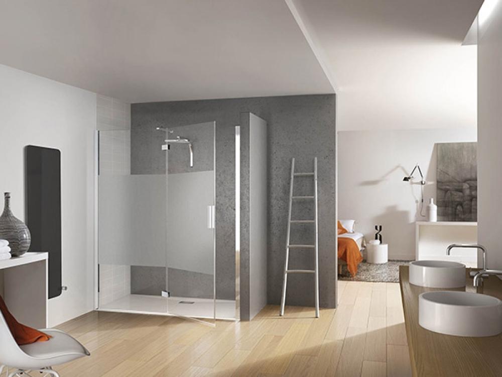 Installation de paroi de douche - Entreprise Pierrel 88100 Taintrux (45)