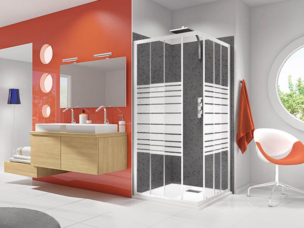 Installation de paroi de douche - Entreprise Pierrel 88100 Taintrux (51)