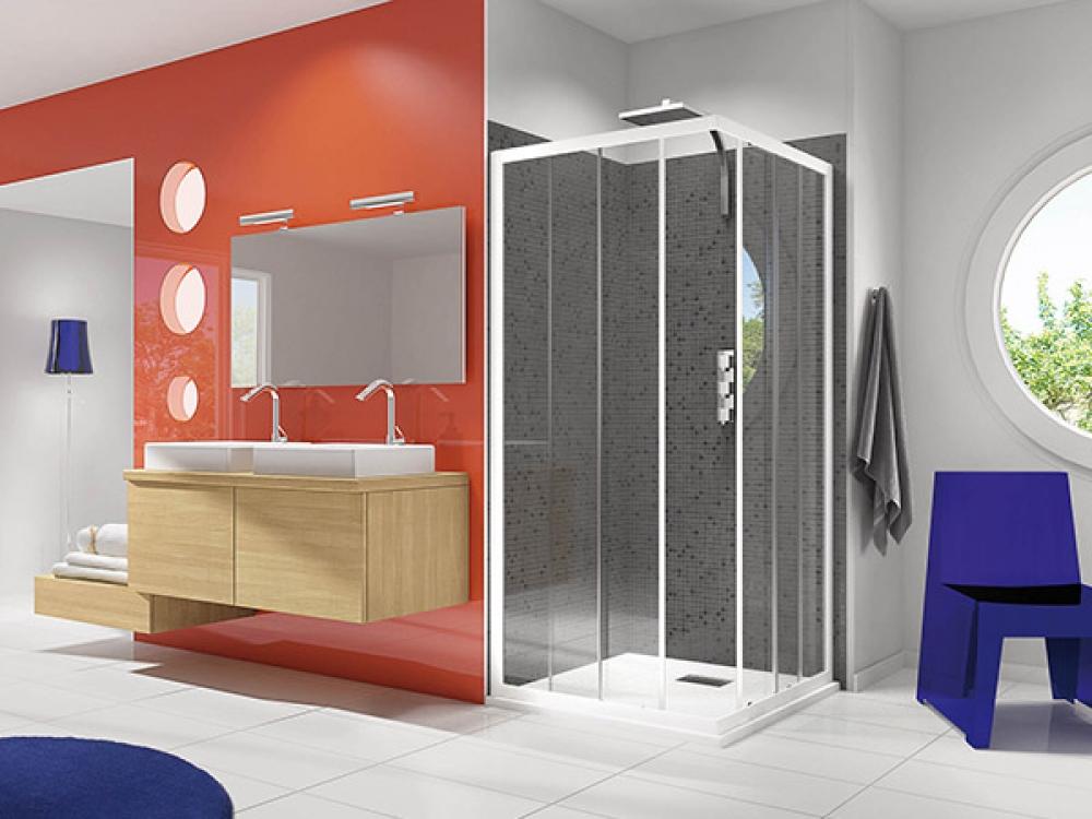 Installation de paroi de douche - Entreprise Pierrel 88100 Taintrux (52)