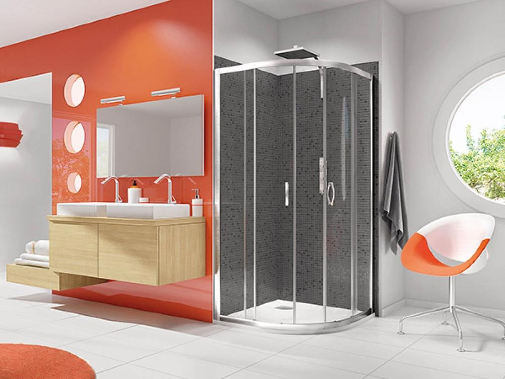 Installation de paroi de douche - Entreprise Pierrel 88100 Taintrux (53)