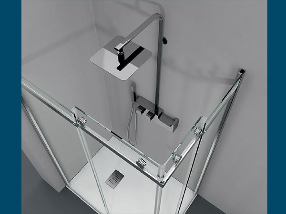 Installation de paroi de douche - Entreprise Pierrel 88100 Taintrux (54)