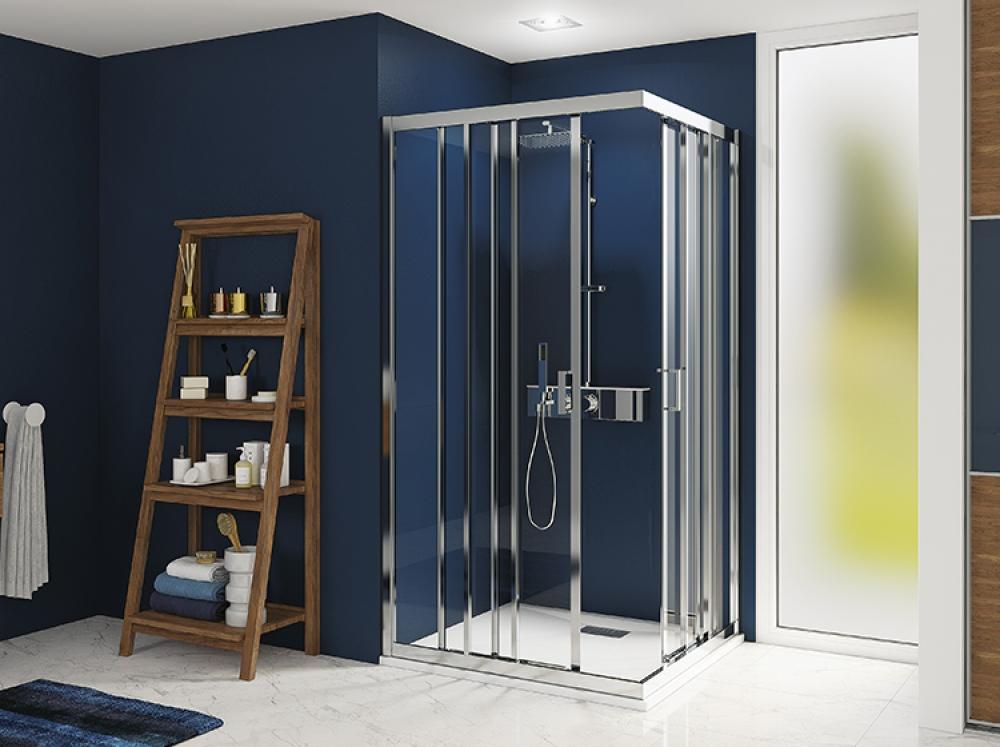 Installation de paroi de douche - Entreprise Pierrel 88100 Taintrux.